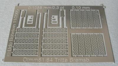 Otmm61/Otmm64: Aufstiegstritte zu Bremserbühne