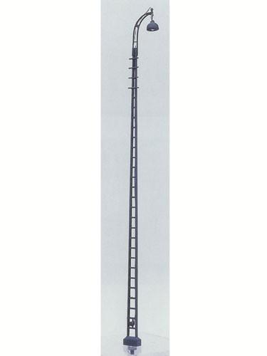 Bahnhofslampe Flachmast, 12 m Mast, beleuchtet - Sur I