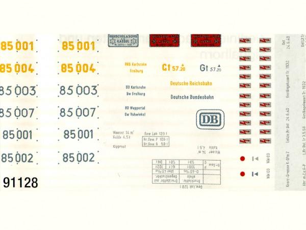 Schiebebildersatz Baureihe 85