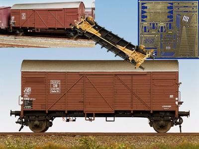 Güterwagenumsatz für Gmhs 35 / Pwghs 44
