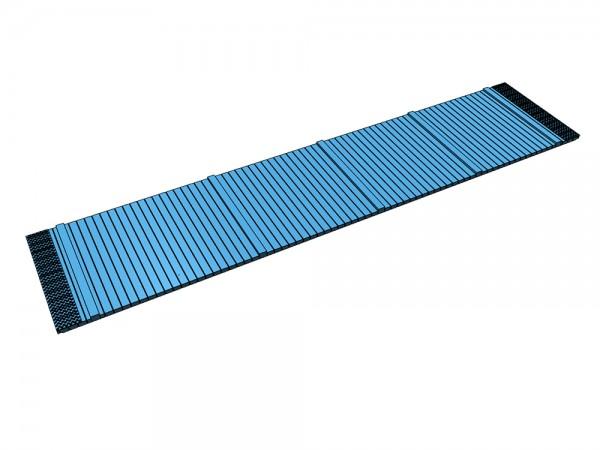 Holzboden mit Blechkappen - Tauschboden für SSkm49 (Klein Modellbahn/Roco) - 3D-Druck
