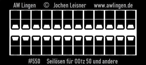 Seilösen für OOtz 50 (Fad 167) u.a.