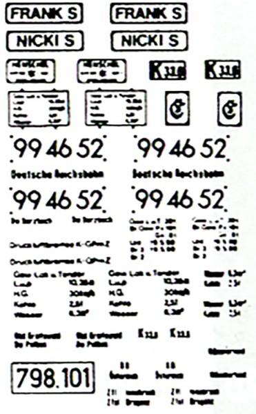 "Schiebebildersatz ""Frank S"", ""Nicki S"", 99 4652, 798.101-Copy"