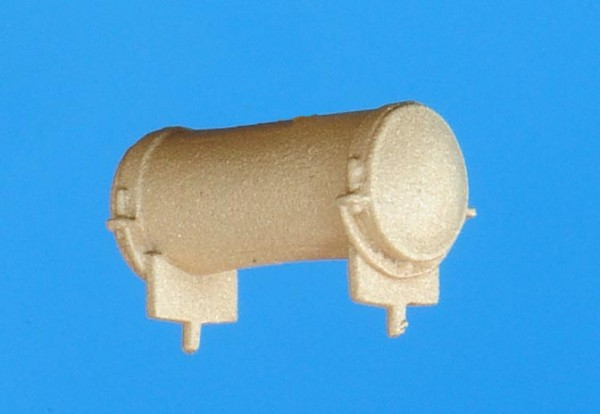 Luftkessel, 11,4mm lang, Durchmesser 4,5mm