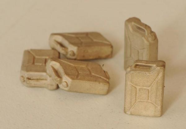Benzinkanister, Epoche II - VI - Spur I
