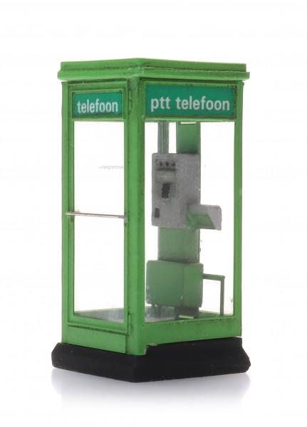 Telefonzelle PTT - Grün 80-90er Jahre - Bausatz