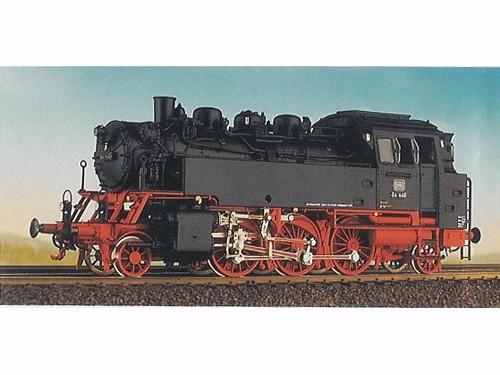 Baureihe 64 DB, geschweißte Wasserkästen, Scherenbremsen,langer Lüftungsaufsatz