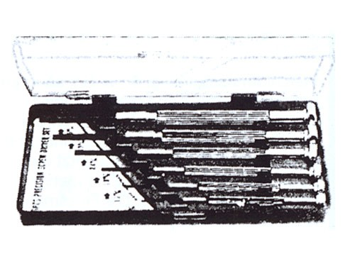 Schraubendreher-Satz, 6teilig (WZ 10S) in Plastik-Kassette