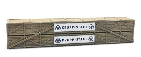 Ladung: Transportkiste Krupp Stahl