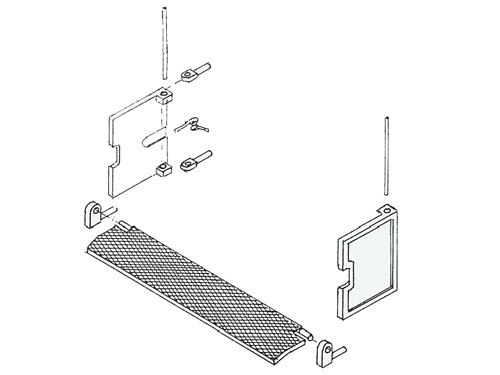 Tenderübergangsteile für P8, BR 38.10-40
