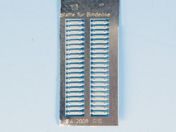 Zurüstsatz 4 für BRAWA-G10: Halteplatte für Bindeöse, 20 Stück