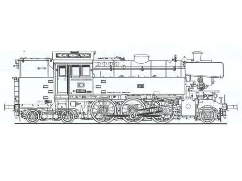 Beschriftungssatz Baureihe 65 und 66 DB