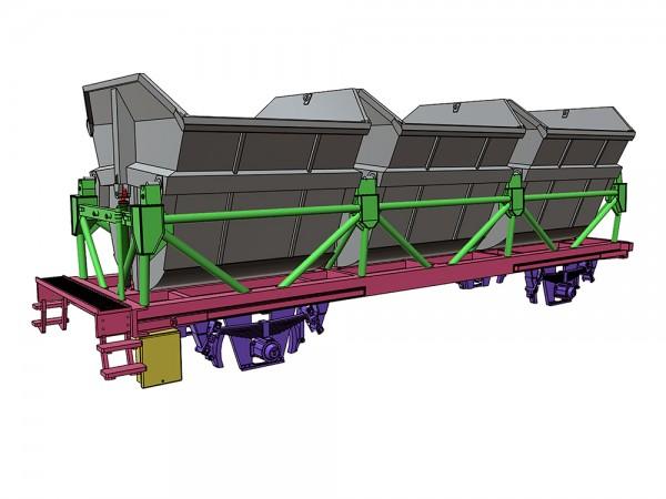 Bausatz Ommi 65 - Muldenkippwagen - 3D-Druck