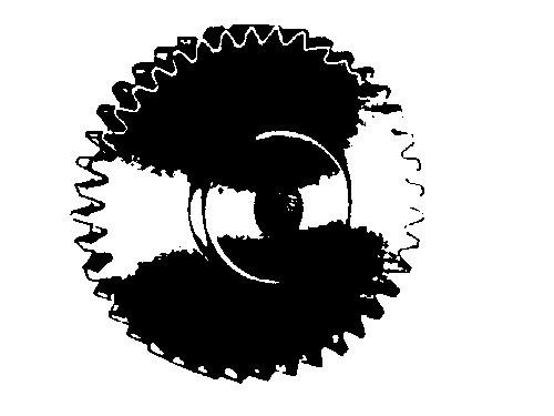 Zahnrad Modul 0,3, 22 Zähne Messing, Bohrung 1,54 mm, Durchmesser 7,2 mm