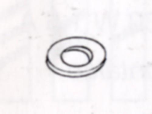 Unterlegscheiben aus Messing, 0,3mm dick, für Schrauben M1,4