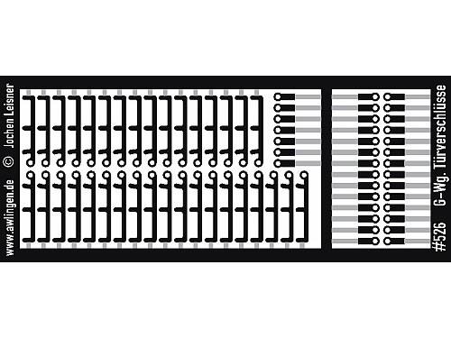Türverschlüsse für Güterwagen vor UIC-Ausführung