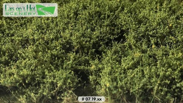 Büsche hellgrün hoch 15 x 21 cm