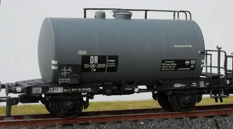 Beschriftungssatz Kesselwagen, Deutsche Reichsbahn, Epoche III