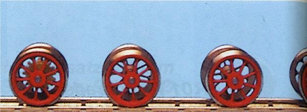 RP25 Tender-Tauschradsätze 11 Speichen für Roco 01-Neubaukessel