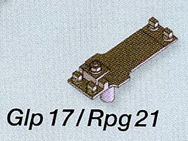 Mein-Gleis Rippen-/Gleitplatten Glp17/Rpg21 - Messingfeinguss