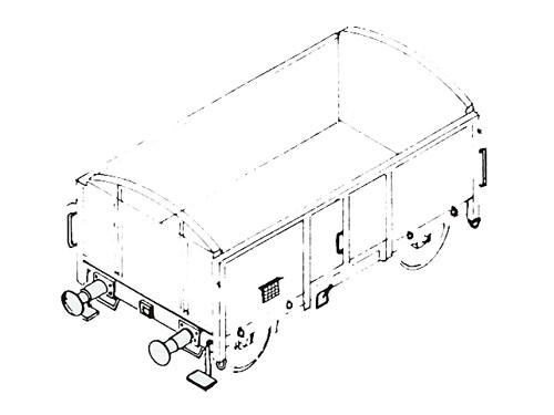 Güterwagenzurüstteile