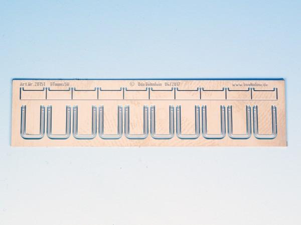 Zurüstsatz 2 für Brawa BTmms58 - seitliche Aufstiegstritte