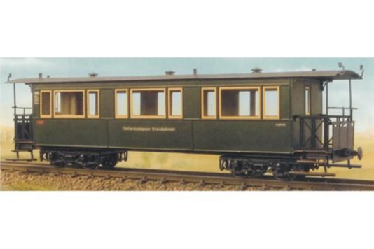 Geilenkirchner Kreisbahn Vierachsiger Weyer-Personenwagen H0e/H0m