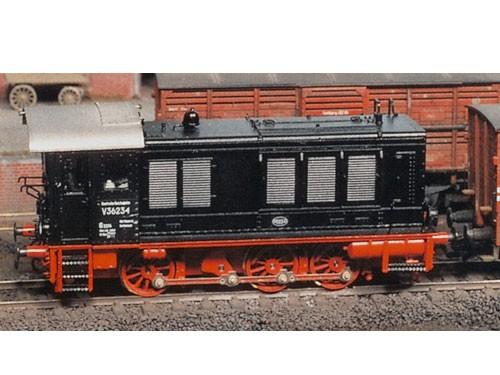 Komplettbausatz V36 DRB (WR 360 C 14), Faulhaber-Motor, RP 25 Radsätze