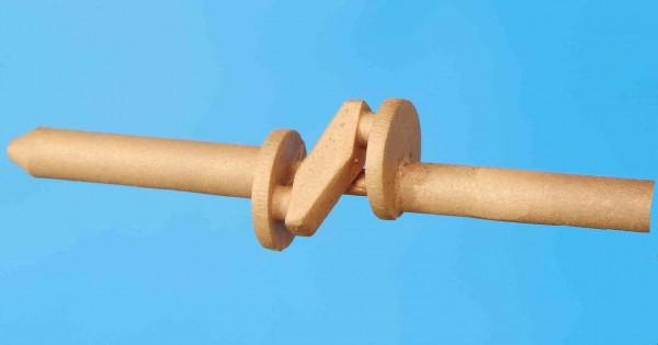 Kropfachse sächsisches Vorbild für 4 Zylinderantrieb