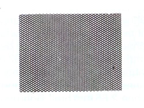 Riffelblech superfein, 0,4 mm für Spur H0