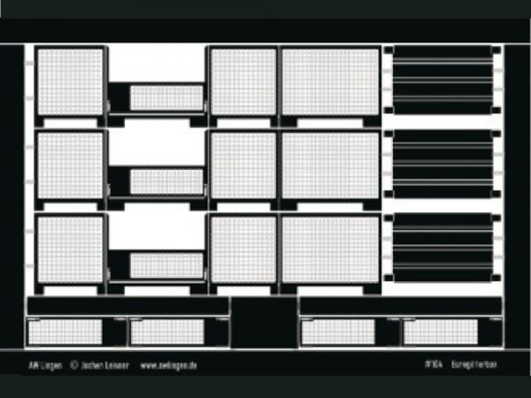 Eurogitterbox - 3 Stück