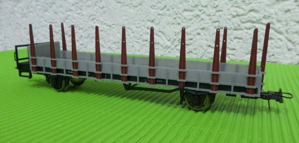 Rbh 21 (Fährbootrungenwagen) Aufbau für Gbh 21 Fahrwerk Roco (Saarbrücken) - 3D-Druck