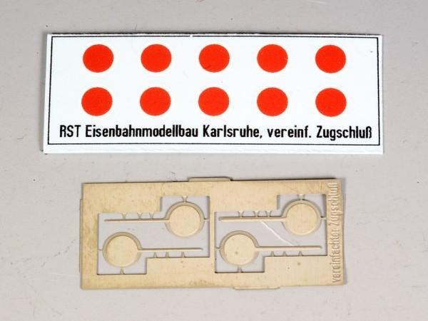 Vereinfachtes Schlusssignal Zg 5 (Spur H0)