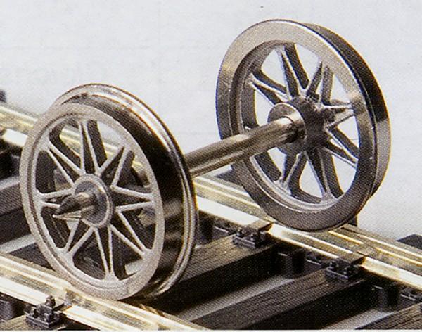 Weinert RP 25-Neusilber-Speichenradsätze Y-Speichen 8 Speichen, Ø 11,5 mm