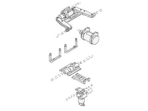 Bremsanlage Bauart HiK-G (Hildebrandt-Knorr) - Spur 0