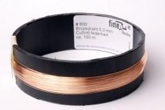 Bronzedraht 0,3 mm, Spule mit ca. 100 m