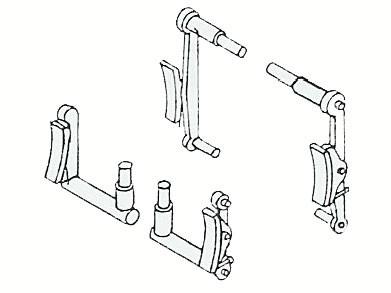 Bremsen für Baureihe 93.5 (pr. T14.1)