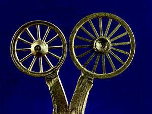 Radscheiben für Wagenfahrt-Modelle