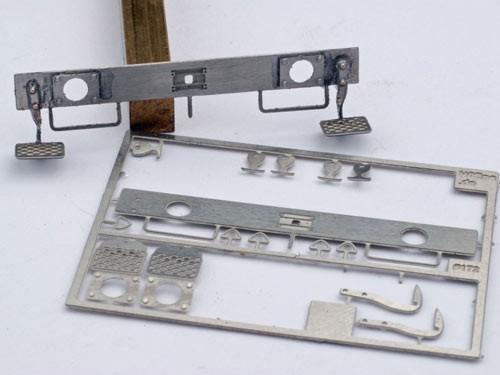 Bausatz geätze Pufferbohle 31 x 3,5 mm z.B. für Roco Omm 55/53