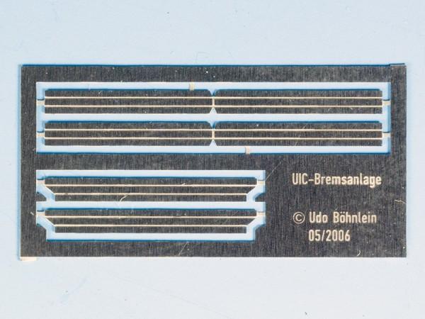 U-Profile für Achsbremsgestänge UIC-Bauart