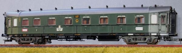 """Beschriftungssatz Einheit-D-Zugwagen [1922/23 , """"Hechte""""], Deutsche Reichsbahn, Epoche II"""