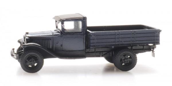 Ford Model AA Pritschen-LKW dunkelblau - Fertigmodell