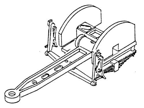 Schleppachse Baureihe 03.10 komplett