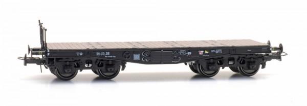 SSy45, DRG, Flach gewölbter Träger, Wagennummer 40 450, Epoche II