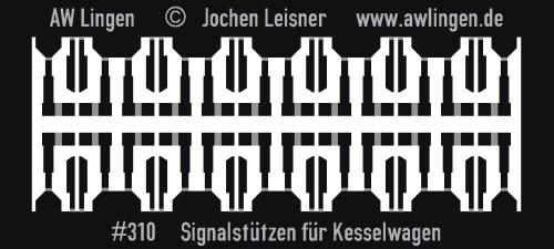 Signalstützen für Kesselwagen