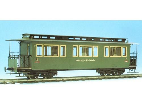 Vierachsiger Schmalspur-Personenwagen - Spur 0e/0m