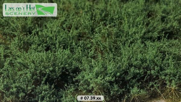 Büsche dunkelgrün hoch 15 x 21 cm