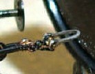 Zugbügel nach Musterblatt pr. C4 und DB-Norm 05 012 magnetisch für Originalkupplungen aus Stahlblech