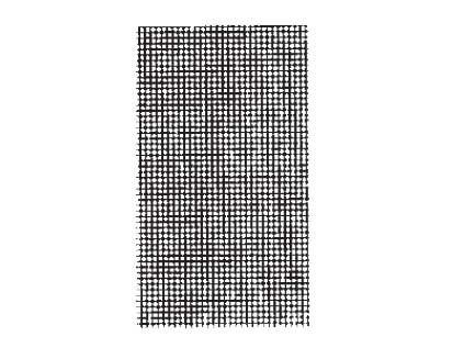 Riffelblech Quadrat durchgeätzt 0,15 mm dick, 70 x 90 mm