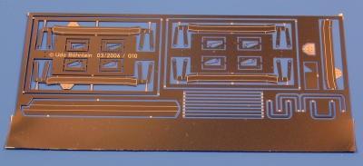 Zurüstsatz 2 für Petau-G10 (Bremsanlage)
